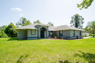 Cocoa Single Family Home For Sale: 3330 Canton Street