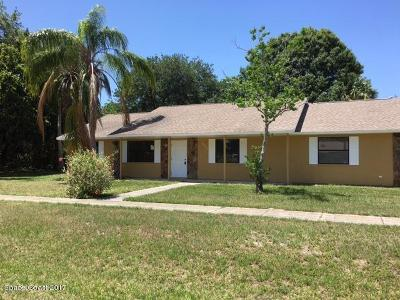 Cocoa Single Family Home For Sale: 5630 Falcon Boulevard