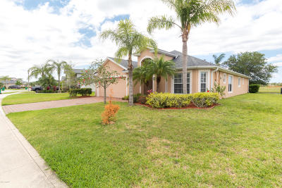 Rockledge Single Family Home Backups: 3502 Siderwheel Drive