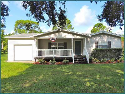 Merritt Island FL Single Family Home For Sale: $205,000