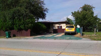 Cocoa Single Family Home For Sale: 417 N Fiske Boulevard