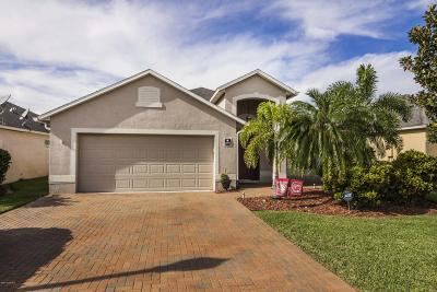 Rockledge Single Family Home For Sale: 4091 Chardonnay Drive