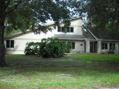 Brevard County Single Family Home For Sale: 3884 Goshawk Place