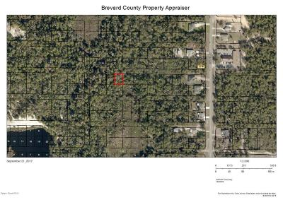 Brevard County Residential Lots & Land For Sale: Barna Avenue