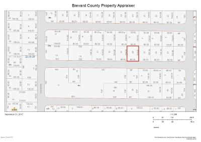 Brevard County Residential Lots & Land For Sale: Volusia Avenue