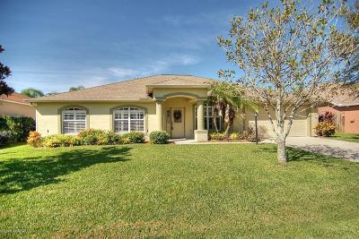 West Melbourne Single Family Home For Sale: 2302 Woodfield Circle