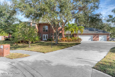 Melbourne Single Family Home For Sale: 1840 Sabal Palm Drive