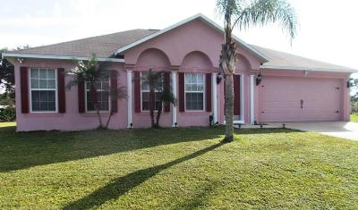 Palm Bay FL Single Family Home For Sale: $219,500