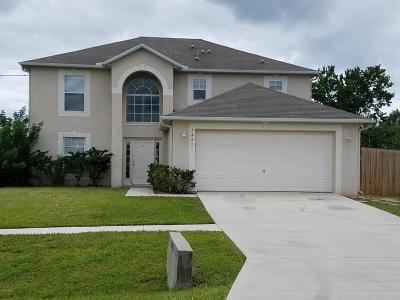 Cocoa Single Family Home For Sale: 3445 Lost Canyon Place