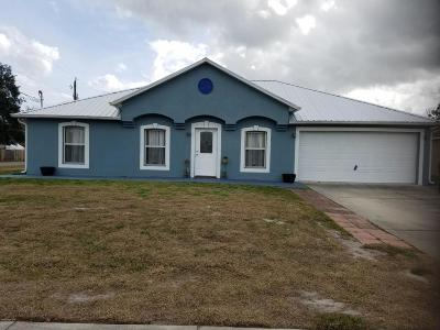 Cocoa Single Family Home For Sale: 5705 Fay Blvd. Boulevard
