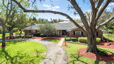 Merritt Island Single Family Home For Sale: 141 Tequesta Harbor Drive