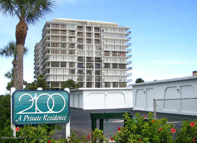 Cocoa Beach Condo For Sale: 2100 N Atlantic Avenue #906
