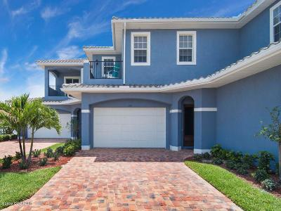 Indian Harbour Beach Townhouse For Sale: 140 Mediterranean Way