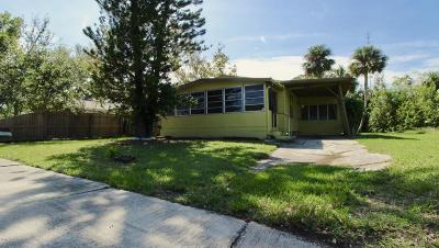Titusville Single Family Home For Sale: 1600 Gayle Avenue