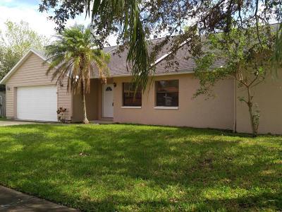 Melbourne FL Single Family Home For Sale: $259,900