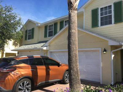 Cape Canaveral Townhouse For Sale: 242 Tin Roof Avenue #302