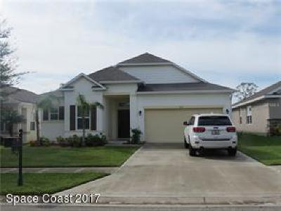 Titusville Single Family Home For Sale: 523 Hollow Glen Drive