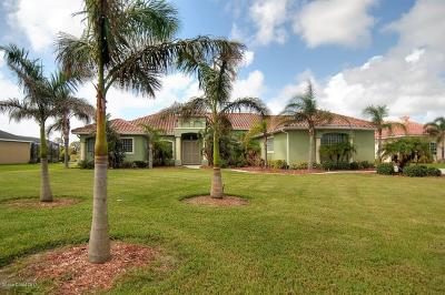 Merritt Island Single Family Home For Sale: 5176 Royal Paddock Way