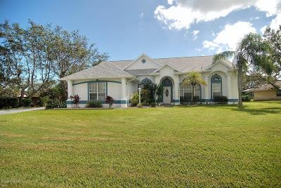 Malabar Single Family Home For Sale: 1740 Country Cove Circle