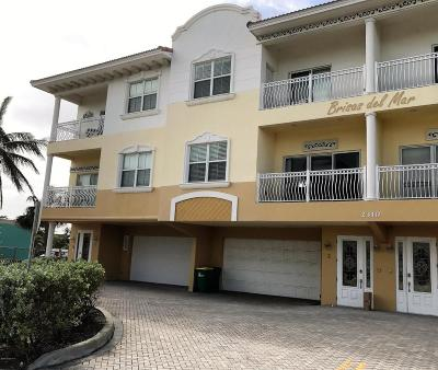 Cocoa Townhouse For Sale: 2310 S Atlantic Avenue #4
