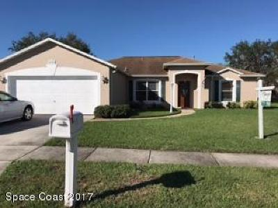 Melbourne Single Family Home For Sale: 1095 Egret Lake Way