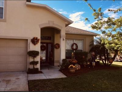 Melbourne Single Family Home For Sale: 3403 Cloudberry Place