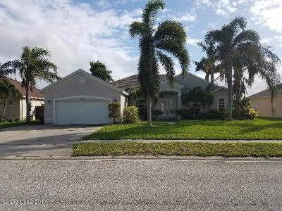 Rockledge Single Family Home For Sale: 341 Tunbridge Drive