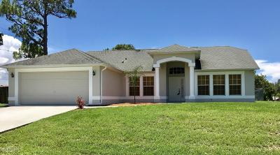 Palm Bay Single Family Home For Sale: 1508 Elmhurst Circle SE