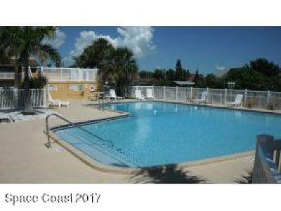 Merritt Island Condo For Sale: 250 N Banana River Drive #15