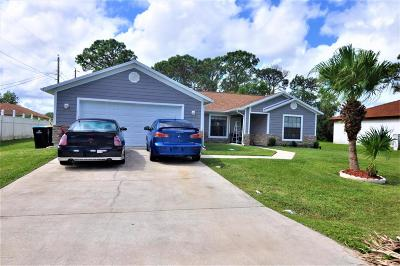 Palm Bay Single Family Home For Sale: 648 NW Furth Road NW