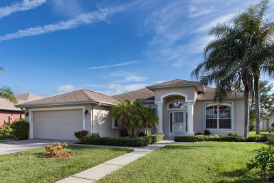 Rockledge Single Family Home For Sale: 1583 Sun Gazer Drive