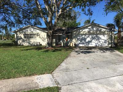 Merritt Island Single Family Home Contingent: 1065 N Montego Bay Drive N