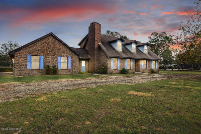 Mims Single Family Home For Sale: 3665 Carter Road