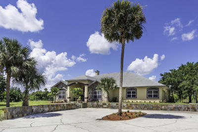 Titusville Single Family Home For Sale: 3571 Fox Wood Drive