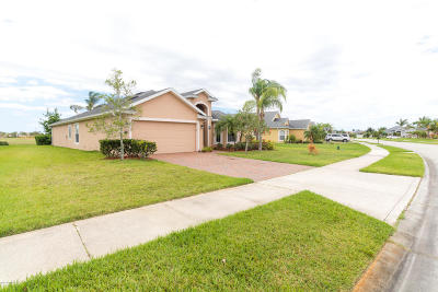 Rockledge Single Family Home For Sale: 3502 Siderwheel Drive