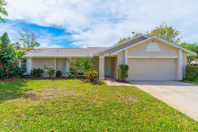 Titusville Single Family Home For Sale: 3872 Wethersfield Circle