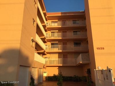 Cocoa Beach Condo For Sale: 1525 S Atlantic Avenue #201