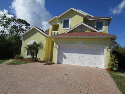 Merritt Island Single Family Home For Sale: 2509 N Banana River Drive N