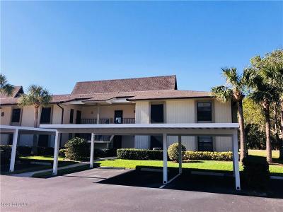 Vero Beach Condo For Sale: 8 Plantation Drive #206