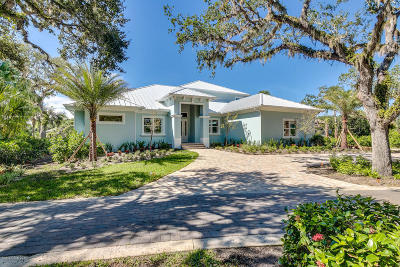 Vero Beach FL Single Family Home For Sale: $1,350,000