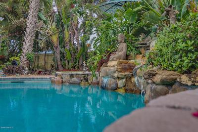 Melbourne Beach Single Family Home For Sale: 1617 Pine Street