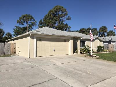 Cocoa Single Family Home For Sale: 466 Arabella Lane