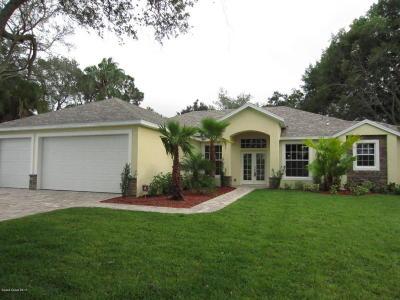 Merritt Island FL Single Family Home For Sale: $589,900