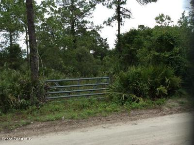 Brevard County Residential Lots & Land For Sale: 4750 Pine Needle Street