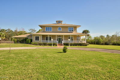 Brevard County Single Family Home For Sale: 3671 Big Pine Road