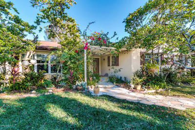Malabar Single Family Home For Sale: 2045 Corey Road