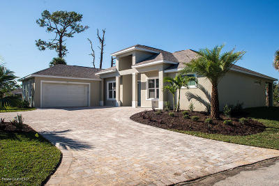 Brevard County Single Family Home For Sale: 1935 S Tropical Trl