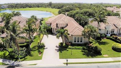 Viera, Melbourne, Melbourne Beach, Indialantic, Satellite Beach, Cocoa Beach, Eau Gallie, Palm Shores, West Melbourne, Palm Bay, Indian Harbour Beach Single Family Home For Sale: 874 Aquarina Boulevard
