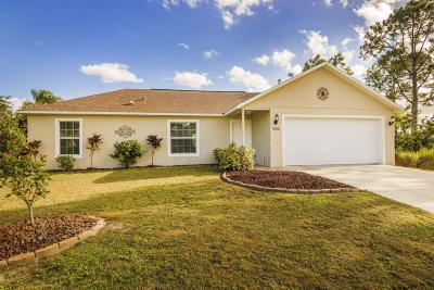 Brevard County Single Family Home For Sale: 1066 Westport Street SE
