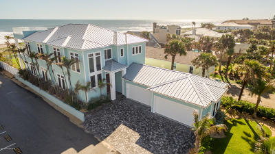 Viera, Melbourne, Melbourne Beach, Indialantic, Satellite Beach, Indian Harbour Beach, Cocoa Beach, Eau Gallie, West Melbourne, Cape Canaveral Single Family Home For Sale: 101 S Atlantic Avenue